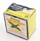 "PETERS HIGH VELOCITY 16 GA. PLASTIC 2 3/4 "", 3 1/4 DR., 1 1/8 0Z.