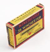 Vintage Winchester .35 Winchester Ammo