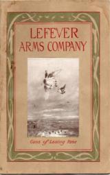 Original Lefever Shotgun Catalog 1912-1913 - 1 of 1