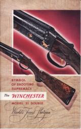 Winchester 1953 Catalog Model 21 - 1 of 1