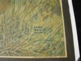 Original Winchester 1929 Calendar Lynn Bogue Hunt image - 5 of 5