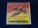 Winchester Repeater 12 Gauge Pheasant Shotgun Shell Box - 1 of 3