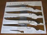 Lefever Shotgun Poster 1937 Original - 1 of 1