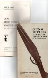Cogswell & Harrison Original gun catalog circa 1950-1960