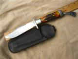 Marbles Folding Hunting Knife with Original Sheath - 1 of 4