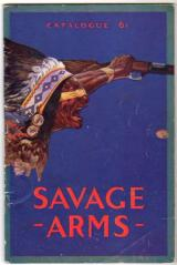 SAVAGE ARMS 1920 ANNUAL FULL LINE CATALOG #61 - ORIGINAL PIECE ACTUALLY MADE IN 1920