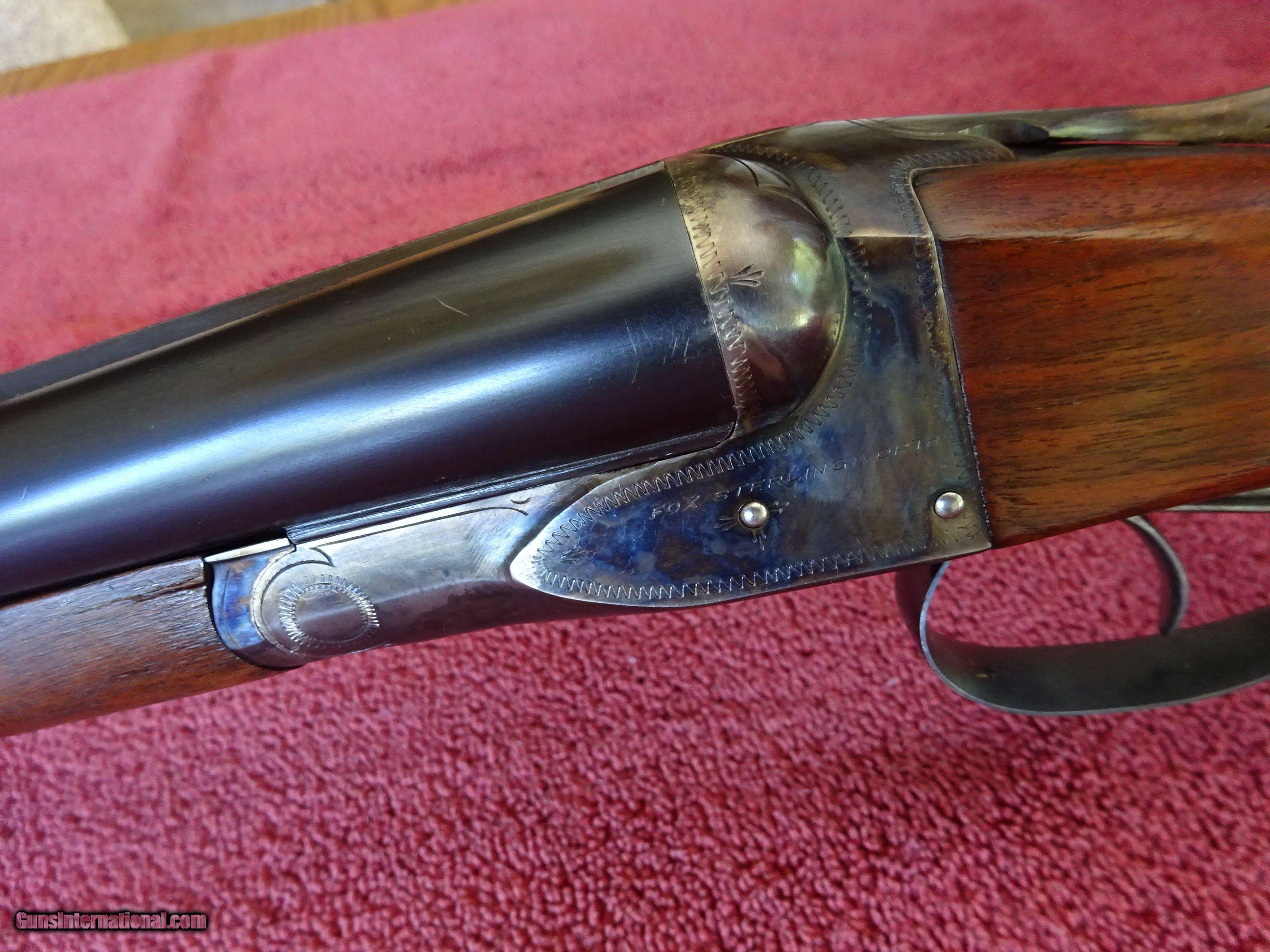 A H FOX, DELUXE STERLINGWORTH 16 GAUGE AUTOMATIC EJECTORS - 1 of 15 ...