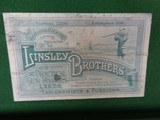 LINSEY BROTHERS, LEEDS ENGLAND - CASED - 2 of 15