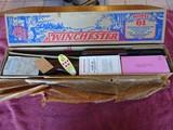 WINCHESTER MODEL 61 IN ORIGINAL PICTURE BOX