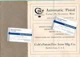 COLT INSTRUCTIONS GOVERNMENT MODEL 45 AUTOMATIC PISTOL ORIGINAL - 2 of 3