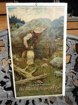 """MARLIN POSTER """"WOOLEY CHAPS"""" BY PHILIP R. GOODWIN - ORIGINAL"""