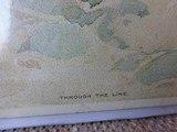 "SMITH & WESSON CARDBOARD POSTER ""THROUGH THE LINE"" BY DAN SMITH - ORIGINAL Circa 1902 - 2 of 8"
