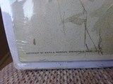 "SMITH & WESSON CARDBOARD POSTER ""THROUGH THE LINE"" BY DAN SMITH - ORIGINAL Circa 1902 - 3 of 8"