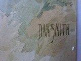 "SMITH & WESSON CARDBOARD POSTER ""THROUGH THE LINE"" BY DAN SMITH - ORIGINAL Circa 1902 - 4 of 8"