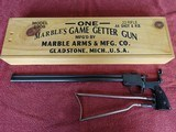 MARBLES GAME GETTER MODEL 1908 22 & 44 CALIBERS SUPERB ORIGINAL CONDITION