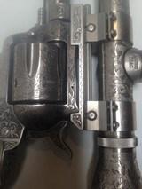 Custom Engraved Ruger Blackhawk new model 357 Magnum Revolver