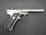 Ruger MKIII SS 22lr 5.5