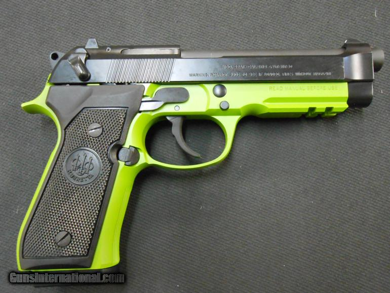 Beretta 92A1 9mm J9A9F10 X-Werks Zombie NIB!