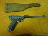 1916 DWN Artillary Luger with sholder stock