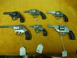 Collection of 6 American Revolvers: H&R, Iver Johnson, The American, Hopkins and Allen - 1 of 13