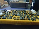 Over 50 pairs of Grips and Many Singles from a life time of Gun Smith Work