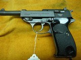 Walther P-38 9mm Post War