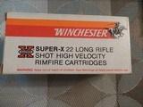 Winchester Super-X 22 Long Rifle No. 12 Shot