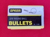 """Speer Bullets .570"""" Round Ball - 1 of 1"""