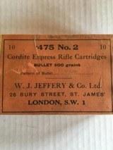 Rare 475 #2 Jeffery box