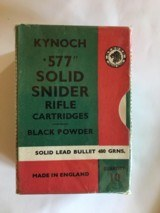 Kynoch 577 Snyder ammo - 2 of 2