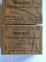 Holland's 500/465 Nitro