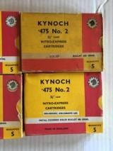Kynoch 475 #2 Ammo - 2 of 2