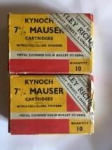Kynoch 7 mm Mauser - 1 of 1