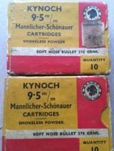 Kynoch Metric Ammo