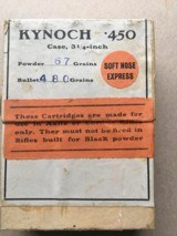 Kynoch 450 Nitro