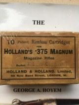 Kynoch 375 Magnum