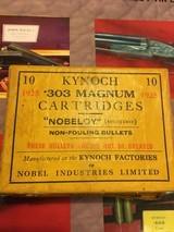 Rare Kynoch 303 Magnum