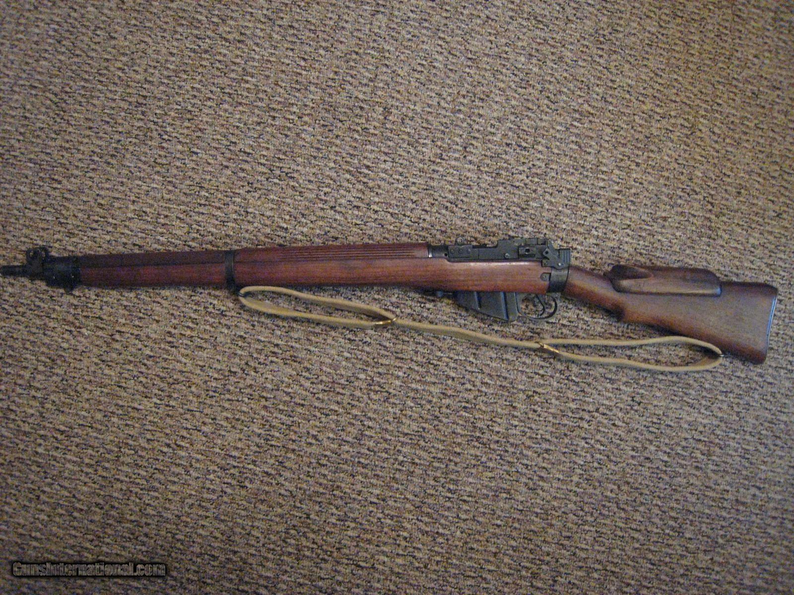 No  4(T) ENFIELD Sniper Rifle w/Scope ( 303 British)