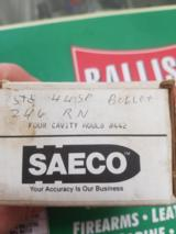 Saeco 4-Cavity Bullet Mold #442 44 Special 44Mag 246gr RN 430dia - 2 of 3