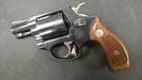 Smith and Wesson Model 36 Chiefs Special 38spcl