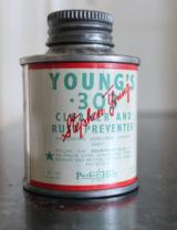 Young's Parker Hale Cleaner & Rust Preventative Can