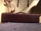 Vintage VL&A leather take down case