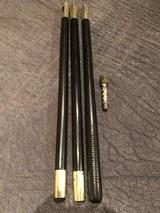 Vintage British Ebony Cleaning Rod