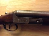 GH GH Parker in original, unmolested condition, 12 ga.Damascus with extra set of Vulcan steel barrels and forend. - 5 of 12