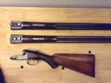 GH GH Parker in original, unmolested condition, 12 ga.Damascus with extra set of Vulcan steel barrels and forend. - 1 of 12