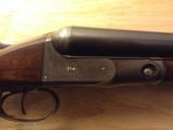 GH GH Parker in original, unmolested condition, 12 ga.Damascus with extra set of Vulcan steel barrels and forend. - 6 of 12