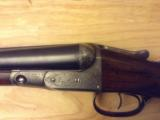GH GH Parker in original, unmolested condition, 12 ga.Damascus with extra set of Vulcan steel barrels and forend. - 8 of 12