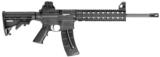 """S&W 811033 M&P15-22 A1 Style Comp SA 22 LR 16"""" 25+1 6 Pos Stk Matte Black, Carbine A2 Style Compensator. - 1 of 1"""