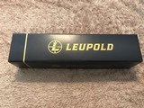 Leupold 170702 VX-3i 4.5-14x40 CDS Side Focus Wind-Plex 30mm Free Custom Trajectory Dial Free Shipping - 4 of 5