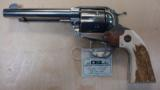 RUGER N VAQUERO BISLEY 45LC POLISHED SS W/ STAG - 2 of 2